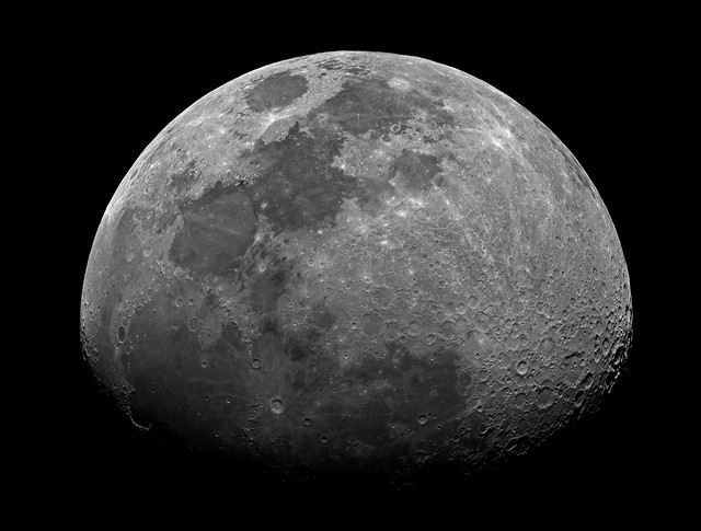 The Waxing Gibbous Moon Positive - Oct 4, 2014