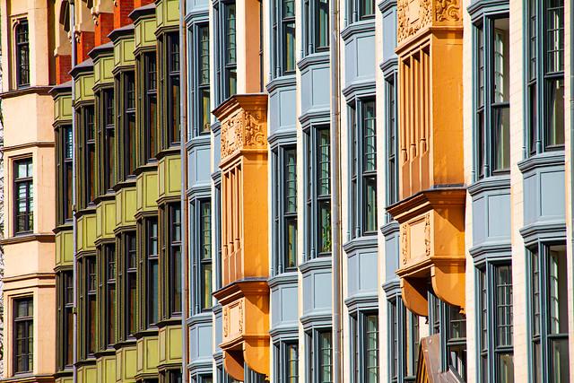 Ost-Berliner Fassade