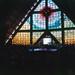 Le grand vitrail de l'église du Bon Pasteur