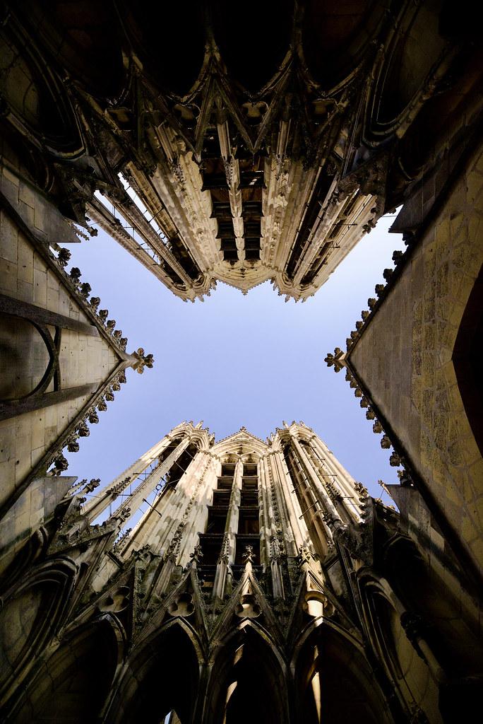 Cathédrale de Reims - On the roof