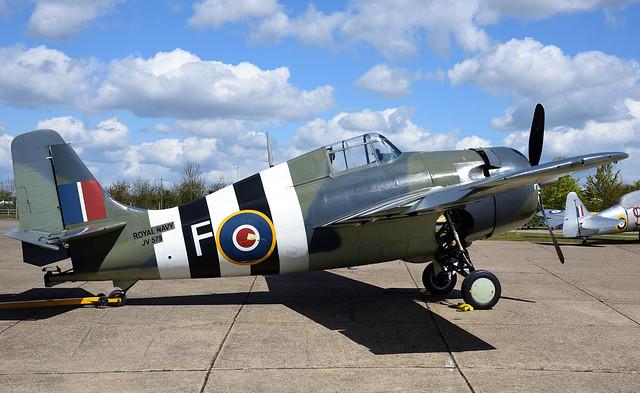 Grumman Wildcat FM2 G-RUMW Fleet Air Arm JV579 Royal Navy The Old Thing