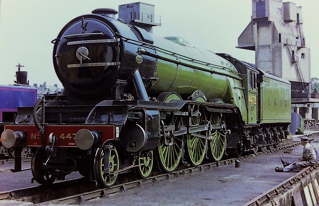 Gresley A3 4-6-2 4472 FLYING SCOTSMAN at Carnforth