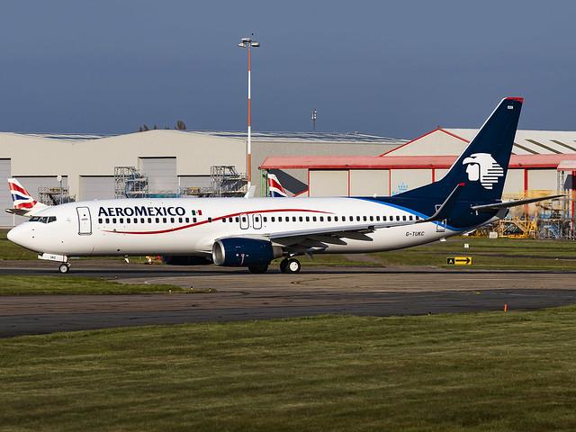 Aeromexico | Boeing 737-8FZ(WL) | G-TUKC