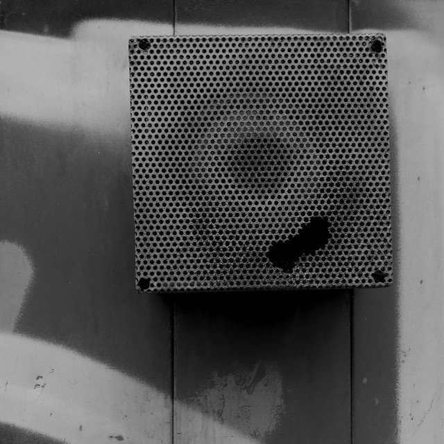 Scatola fantasma. Ghost box. B&W