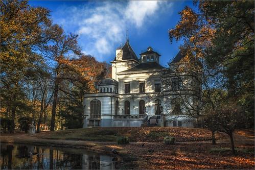 mechelen europe belgium castle building landscape autumn bélgica unióneuropea europa