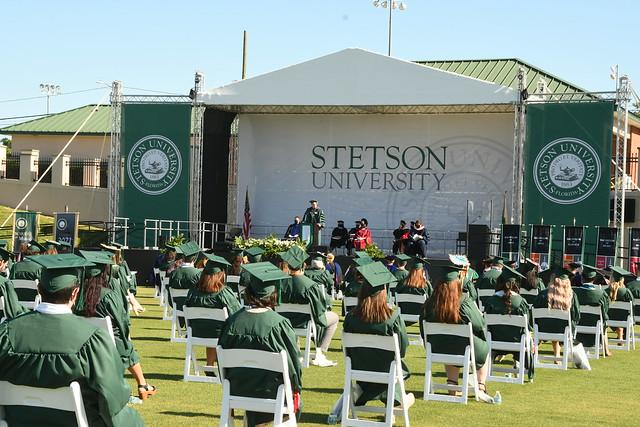 Spring 2021 Undergraduate Commencement Ceremonies: School of Music; College of Arts and Sciences - Natural Sciences; Organizational Leadership