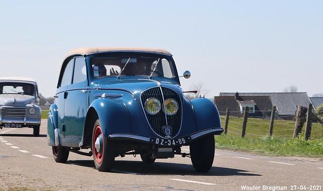Peugeot 202 Berline Découvrable 1939