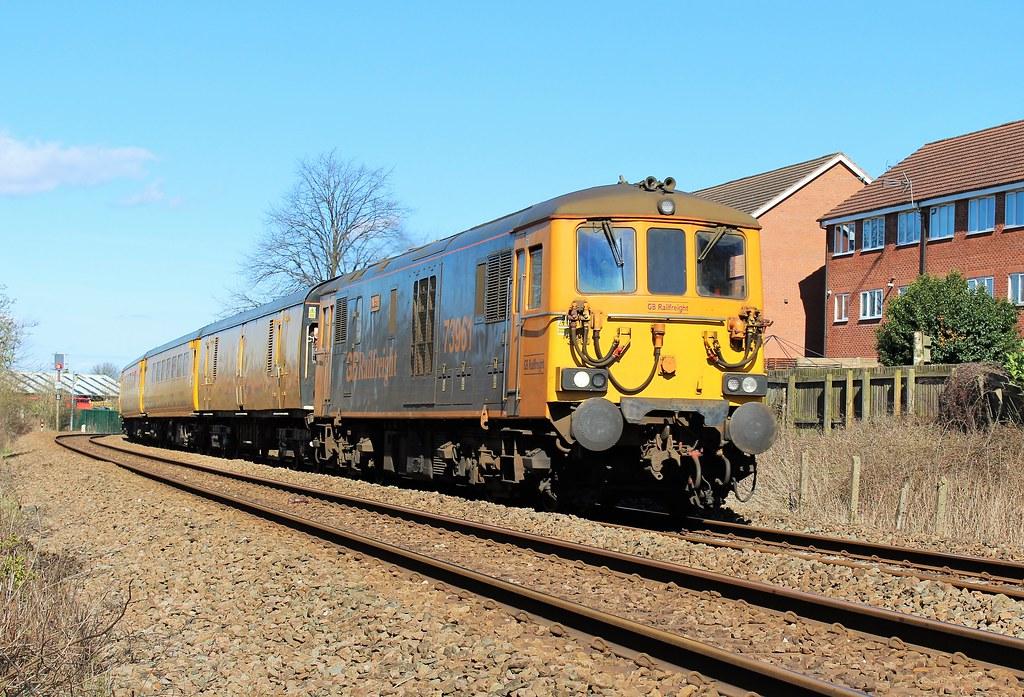GBRF 73961 - Sutton Junction