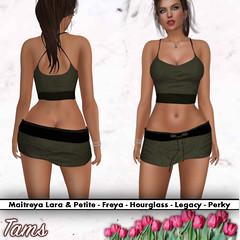 Top and Skirt - Peti