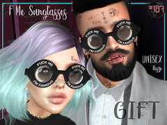 #187# F Me Sunglasses GROUP GIFT