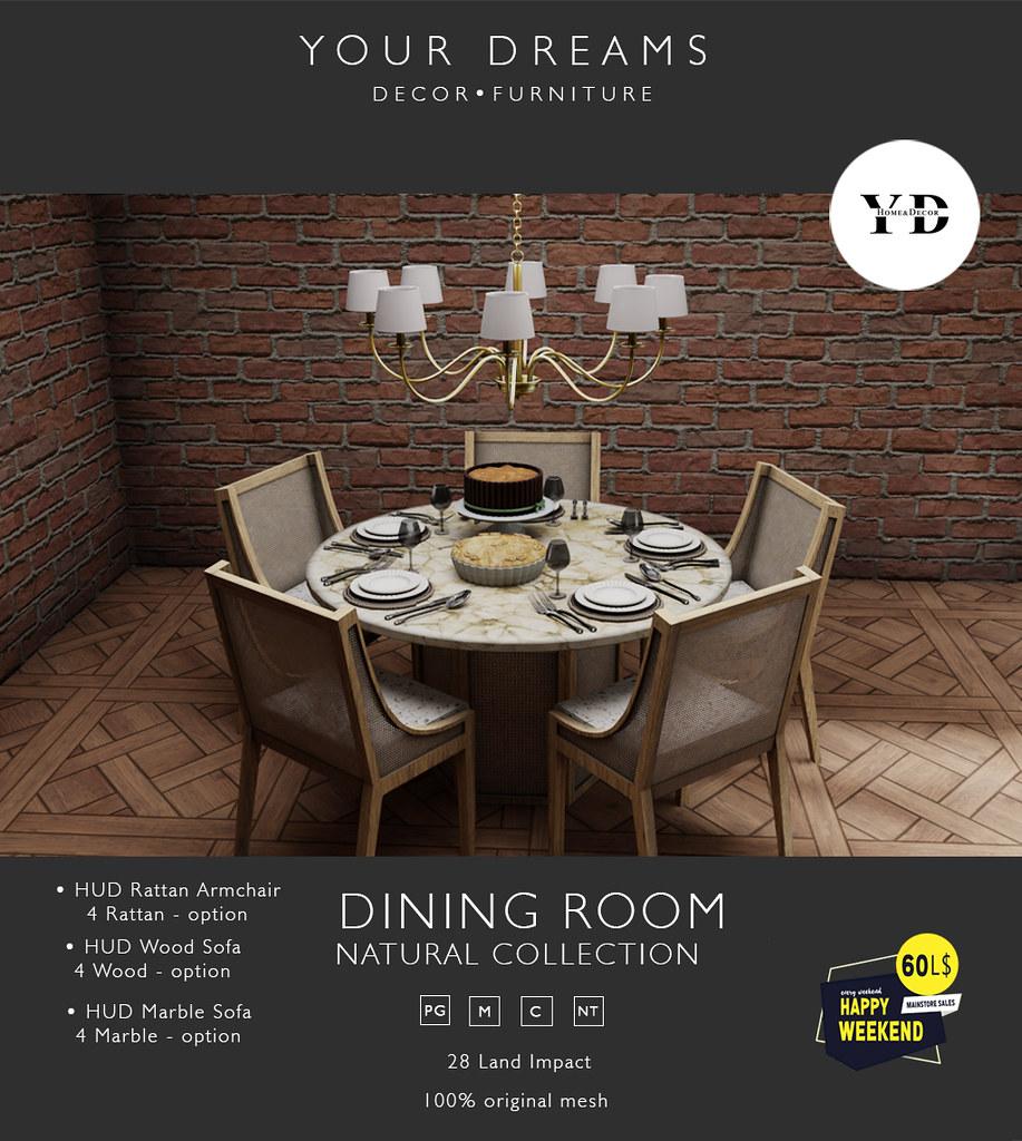 {YD}  Dining Room