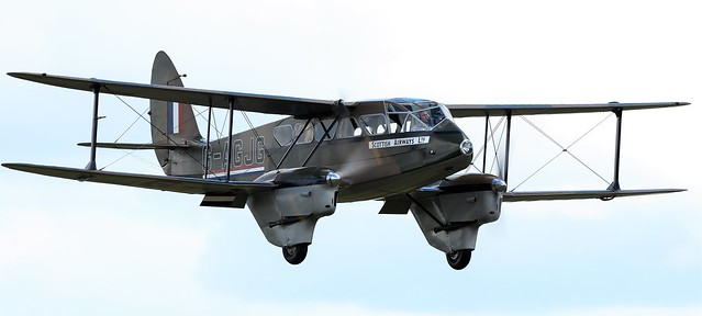 1941 De-Havilland DH-89A Dominie Dragon Rapide G-AGJG RAF  X7344