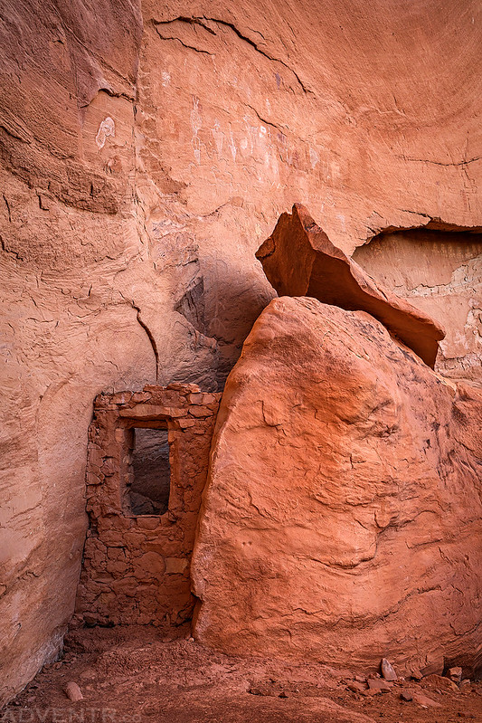 Behind The Boulder