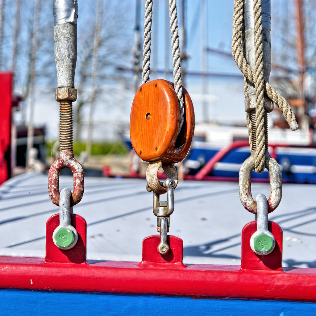 Pulley and Ropes