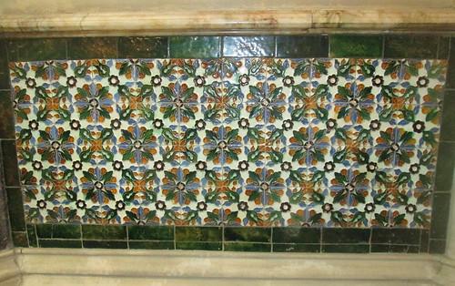Tiling in Mansion, Bletchley Park