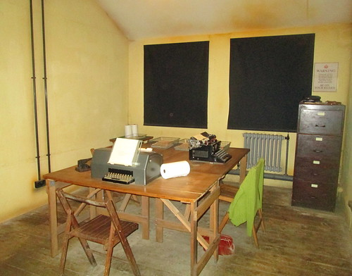 Room in Hut, Bletchley Park