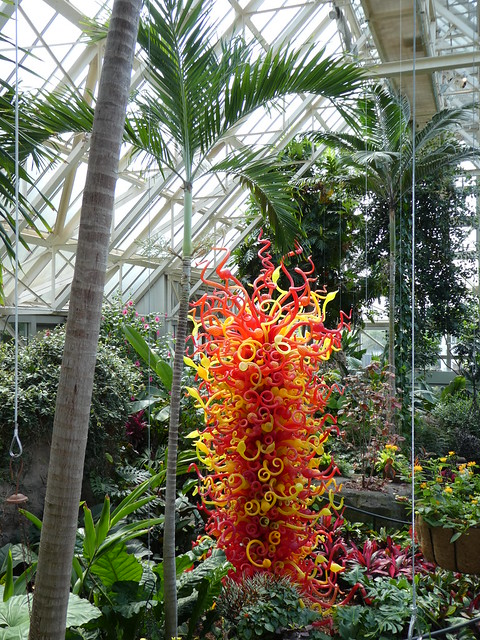 Franklin Park Conservatory and Botanical Gardens - Chihuly