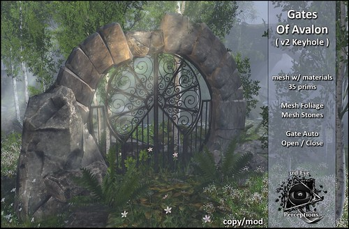 gates of avalon v2 keyhole cover