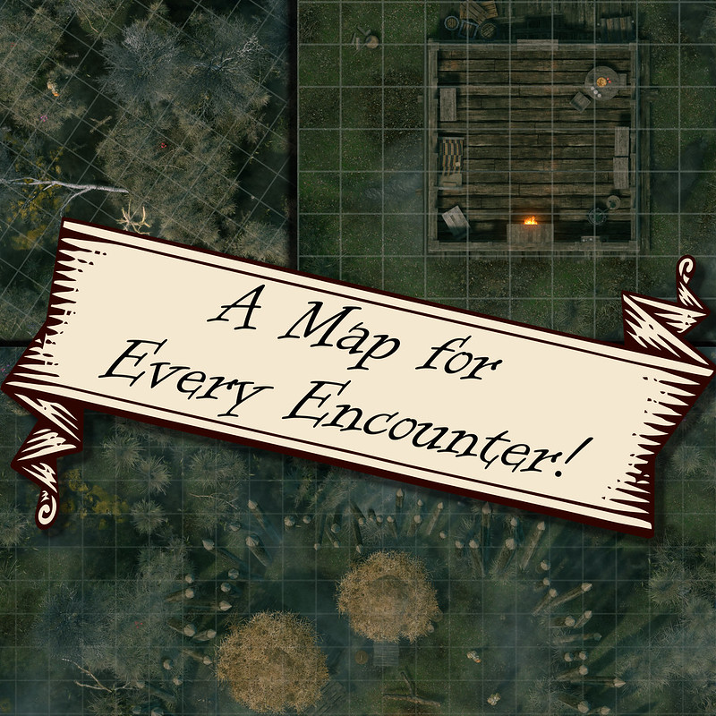 Featuring four encounter maps of the adventure.