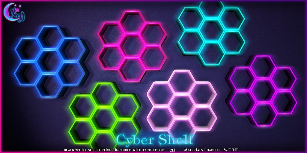 *NeverWish* Cyber Shelf