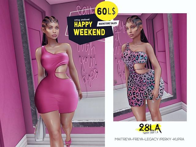 28LA. Emerson Dress x Happy Weekend!!!