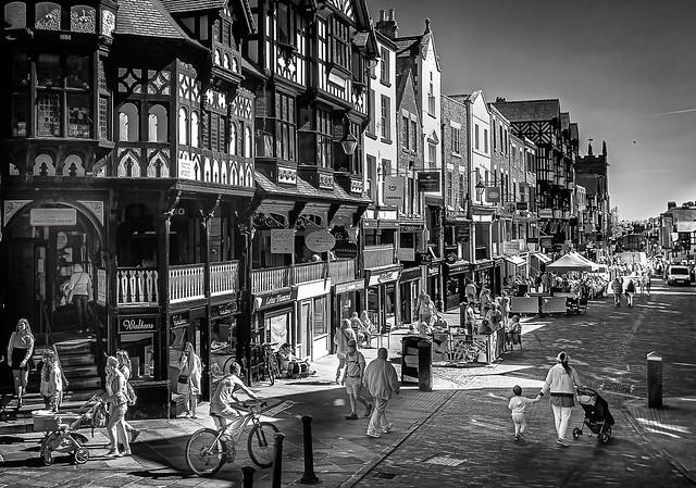 Chester, Bridge Street.