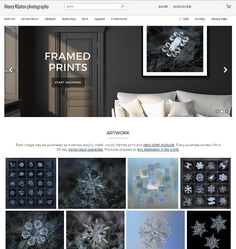 Alexey Kljatov artist website https://alexey-kljatov.pixels.com/ - print-on-demand service offers art, framed, canvas, acrylic, metal and wood prints