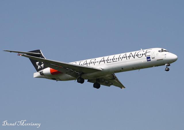 SAS (Star Alliance Livery) MD-87 SE-DIB