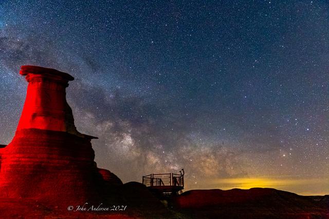Hoodoo-Milky Way