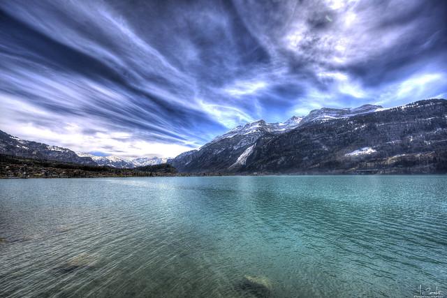 Lake Brienz with mountains view - Brienz - Bern - Switzerland