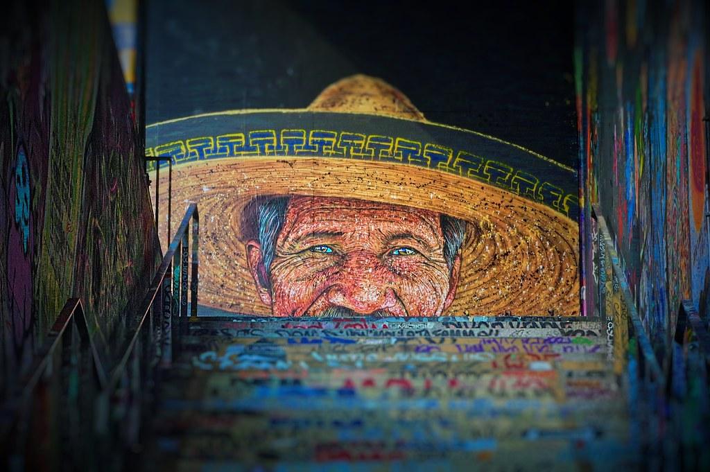 Homme au sombrero ARTISTE RAST