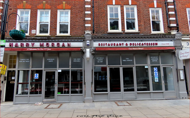Harry Morgan `Jewish Delicatessen Closed Down