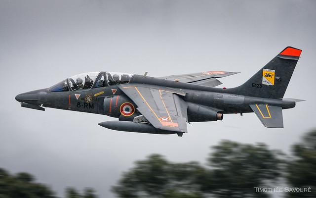 NTM19 | Armée de l'Air Dassault/Dornier Alphajet E | E123 / 8-RM