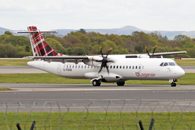 G-FBXB ATR.72-212A(600) Loganair MAN 09MAY21