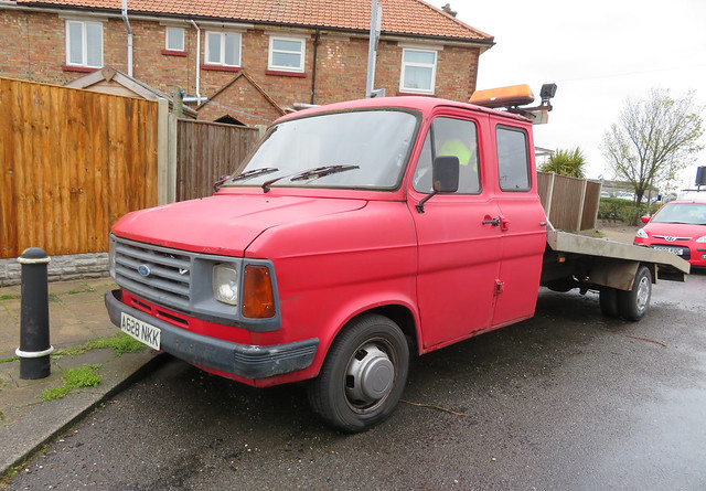 1983 Ford Transit 190 2.0 petrol recovery truck