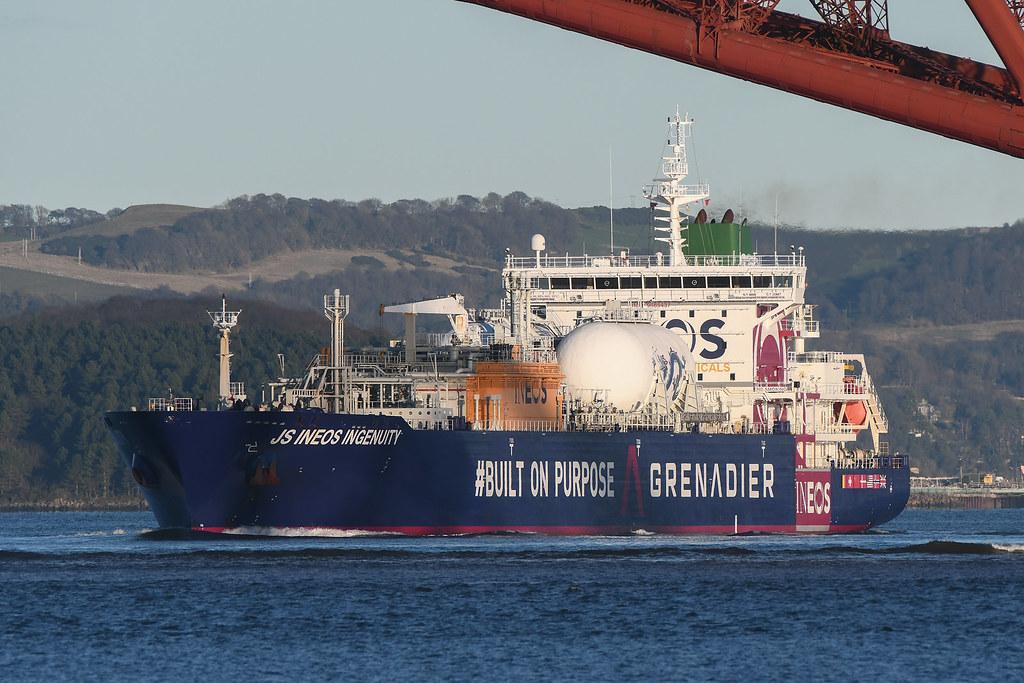 JS Ineos Ingenuity -..- Port Edgar -..- 01-01-2021