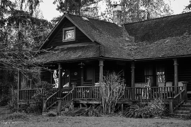 Alex Houston House circa. 1909 (Houston Trail - Derby Reach Park)