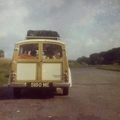 Our Morris Traveller (1970s)