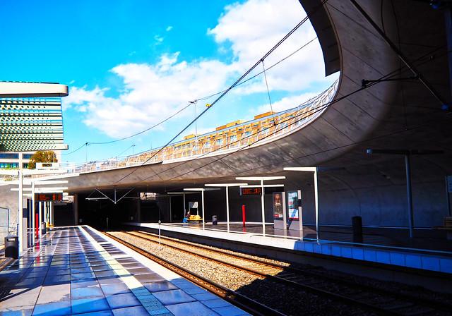 Stadtbahn Haltestelle Staatsgalerie