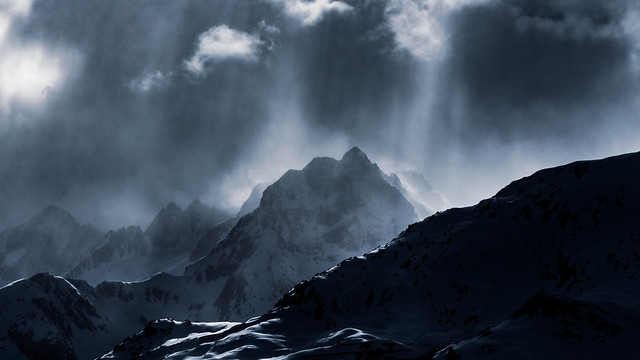 Light, Clouds, Mountains (series)