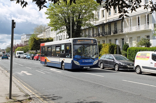 Stagecoach VU11 BUJ, Cheltenham