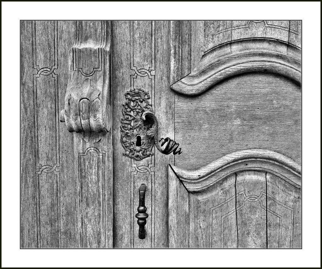 Inntal - Türschloß der Klosterkirche Vornbach am Inn
