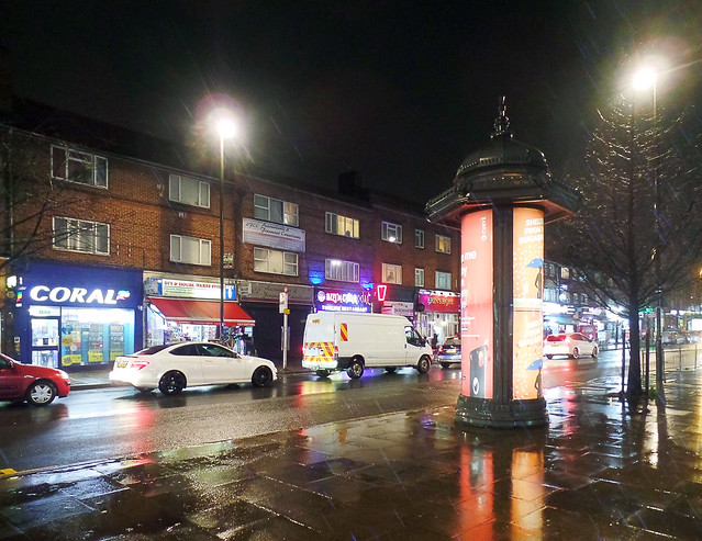 Varley Parade on a Wet Night