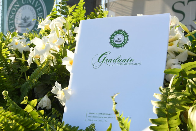 Spring 2021 Graduate Commencement Ceremony