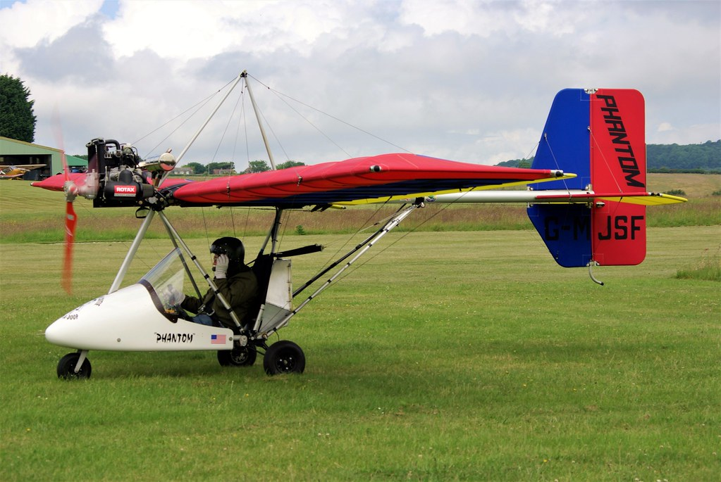 G-MJSF - Skyrider Airsports Phantom      Sandown
