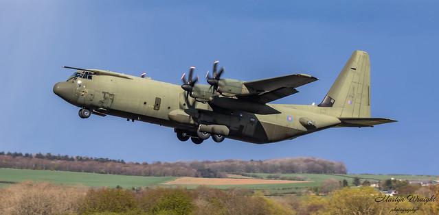 ZH874 RAF Lockheed C130J Hercules C4