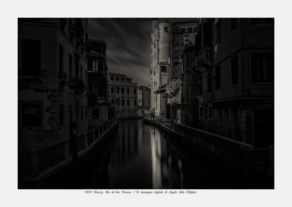 2020 Venezia,  Rio  de  San  Trovaso