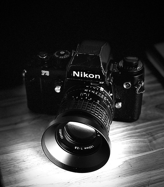 The old Nikon F3 (circa 1980)