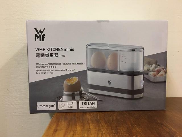 人稱好廢但是好用的煮蛋器XD@WMF電動煮蛋器