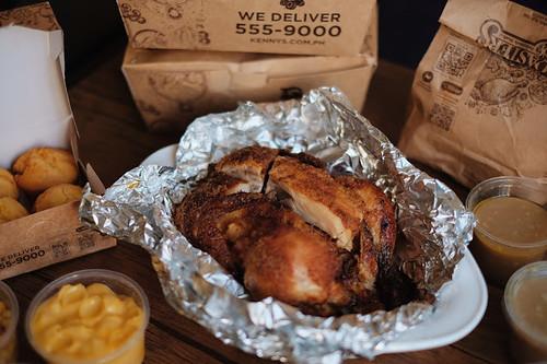 Kenny Roger's Garlic Butter Chicken